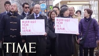 Gay Couples In Japan Filed Valentine