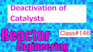 Deactivation by Aging, Poisoning and Fouling // Reactor Engineering - Class 146