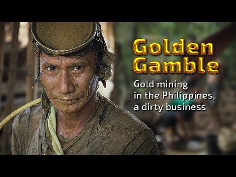 Golden Gamble. Gold mining in the Philippines, a dirty business (Trailer) Premiere 5/5
