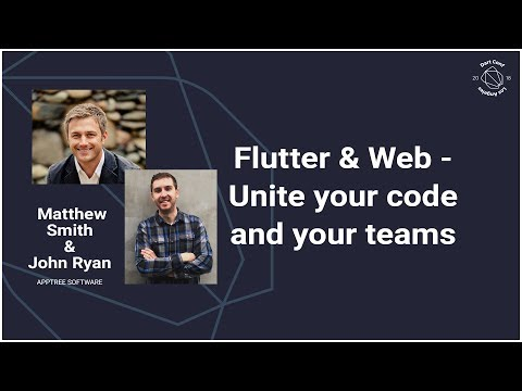Flutter & Web - Unite your code and your teams (DartConf 201