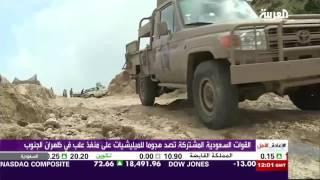 القوات السعودية تصد هجوما للمليشيات على منفذ علب