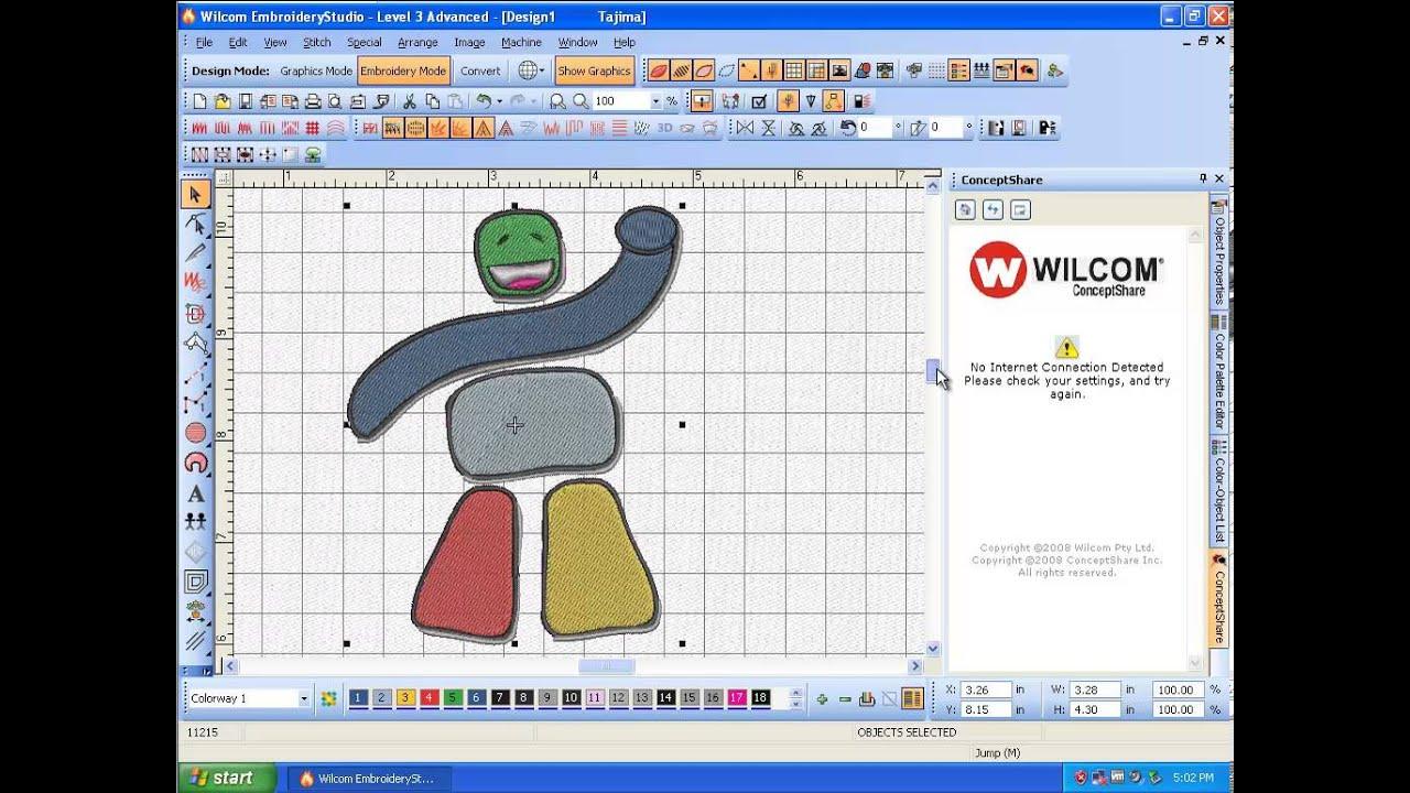 wilcom embroiderystudio e1.5