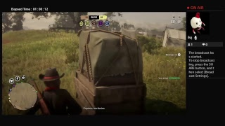 OuttLaw_Huntress's Live PS4 Broadcast Red Dead Redemption 2 Online