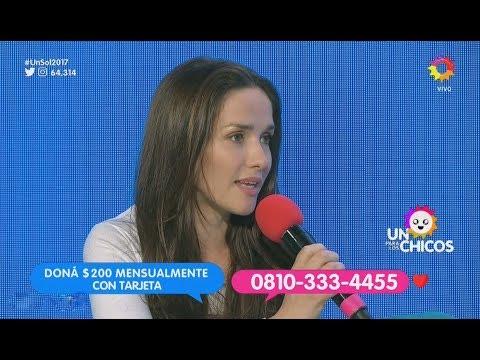 Natalia Oreiro contó un poquito más sobre su viaje a Kenia
