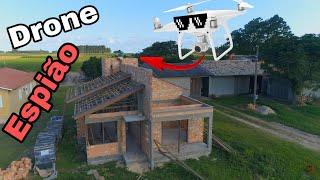 drone visita construçoes feita por mim juliano miguel drone