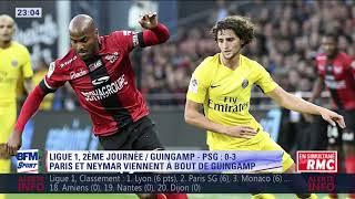 After foot du dimanche 13/08 – partie 1/3 - débrief de guingamp/psg (0-3)