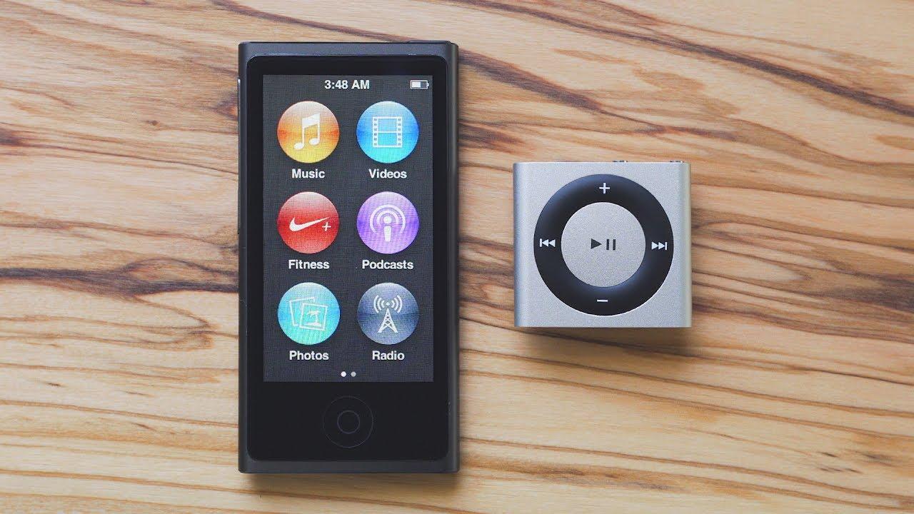 Goodbye to the iPod Nano & iPod Shuffle - YouTube