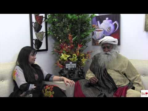 Sadhguru Jaggi Vasudev on Chai with Manju