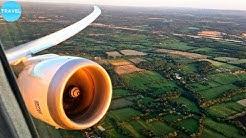 Norwegian Boeing 787-9 Sunset Takeoff from London Gatwick Airport!
