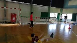 山本学園 男子ハンドボール 練習風景①