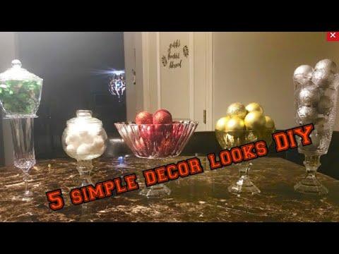 5 simple Dollartree glam decor