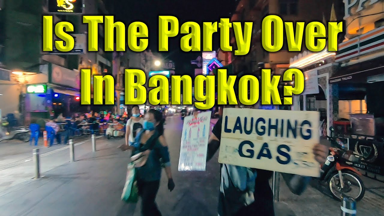 Bangkok Thailand's Biggest Party Streets Are In Trouble