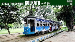 Kolkata Tour In 12Hours | Tram | Metro | Taxi | Dakshineswar | Bengali Cusines | Kolkata Travel Vlog
