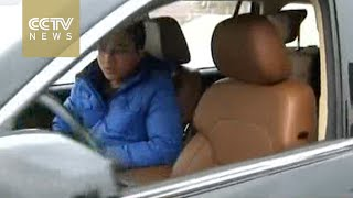 Test driving China's first mind-controlled car