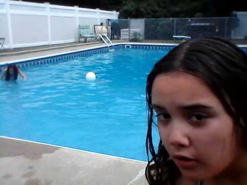 Swimming in Da Private Pool!