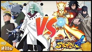 Naruto Storm 4, Multiplayer #4 Apelação NIVEL +8000/ Minato DEUS da APELAÇÃO/ Mod Battles - Nillo21.
