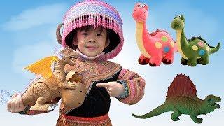 Trò Chơi Đi Săn Và Tìm Hiểu Khủng Long Ở Công Viên Kỷ Jura ❤ AnAn ToysReview TV ❤