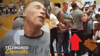 Terminator 'Terminado': Atacan a Arnold Schwarzenegger en la espalda | Telemundo Deportes