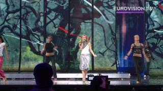 Elena&#39s first rehearsal (impression) at the 2009 Eurovision Song Contest
