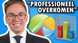 10 MANIEREN OM PROFESSIONEEL OVER TE KOMEN!