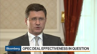 Russia's Novak Says Oil Ministers Ready to Review Cuts