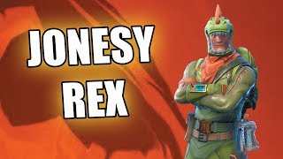 Jonesy Rex Bugado or wrong description at Fortnite Save the World