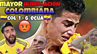 COLOMBIA VS ECUADOR !!!! MEJORES MOMENTOS, LA PEOR HUMILLACIÓN EN LOS ÚLTIMOS AÑOS!!!