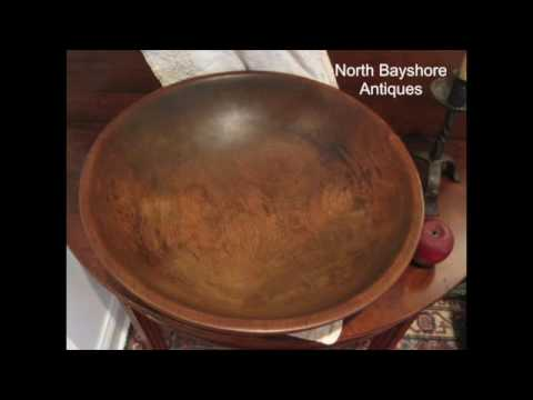 Antique Wooden Bowls & Trenchers from 17th & 18th Centuries