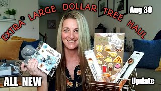 EXTRA LARGE Dollar Tree Haul ❤ OUTSTANDING Items | Ideas | Update On Ruby| Aug 30