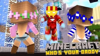 minecraft who s your daddy superhero baby blows up daycare