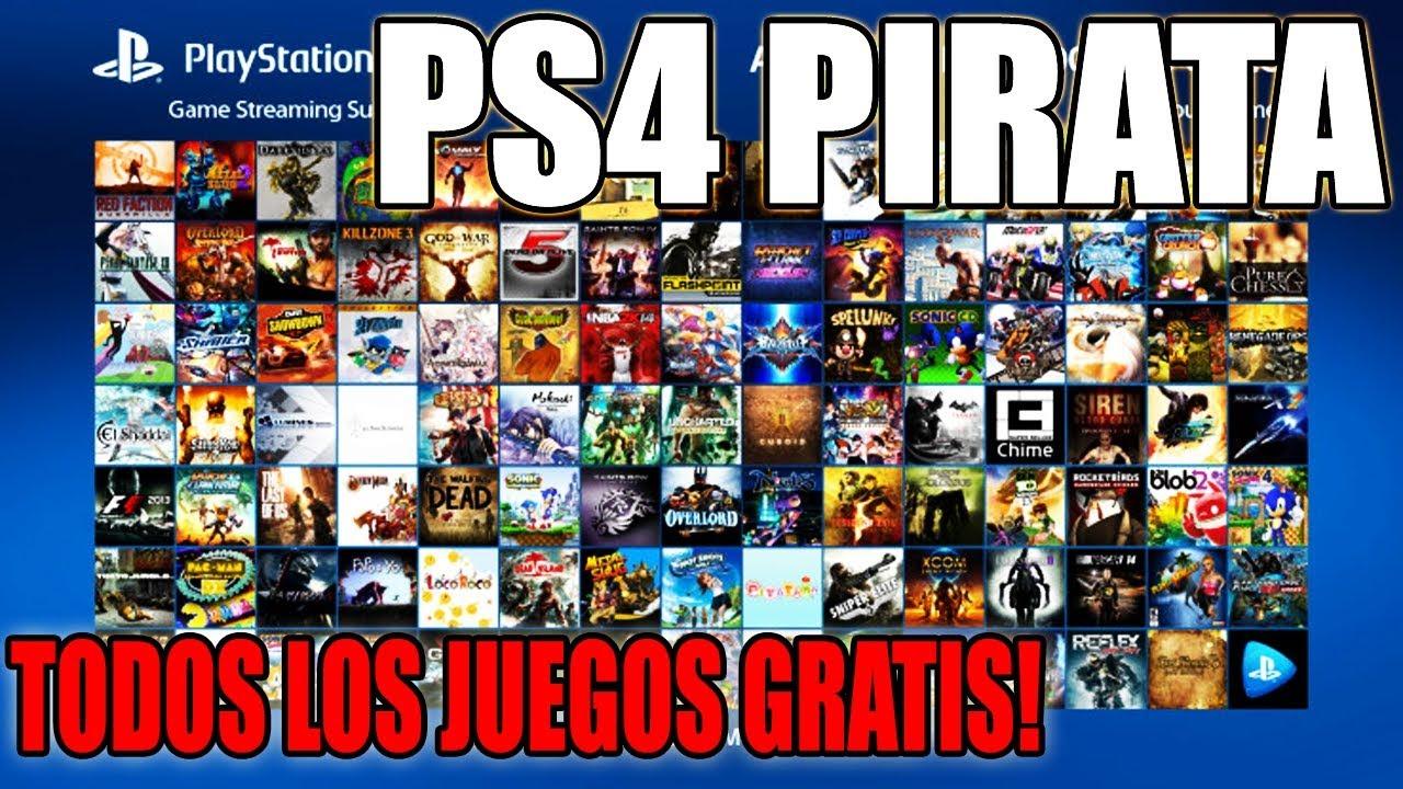 Nuevo Avance En Ps4 Pirata Tener Todos Los Juegos Gratis Con Mod
