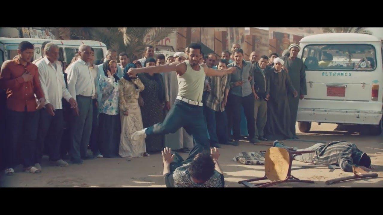 مسلسل زلزال - أقوى مشهد أكشن من زلزال .. محمد حربي يضرب ويطرد البلطجية من الموقف