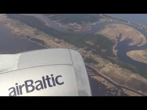12 04 17 Boeing 737 522 26680  2366 YL BBM Riga Tallinn Air Baltic
