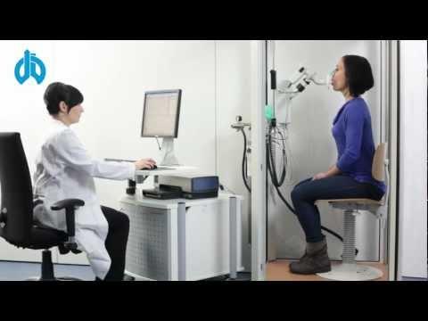 Bodyplethysmografie