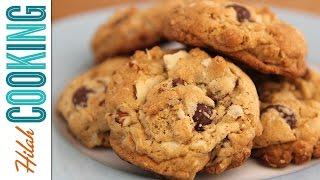 How to Make Oatmeal Chocolate Chip Cookies   Hilah Cooking