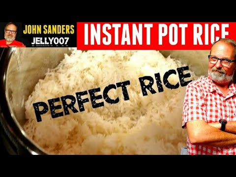 PERFECT RICE ~ INSTANT POT ~ Electric Pressure Cooker Review