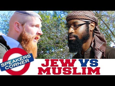 Jew vs Muslim | Israel Shouldn't Exist! | Speakers Corner