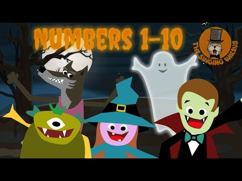 Halloween Song for Kids | Halloween Creatures | The Singing Walrus