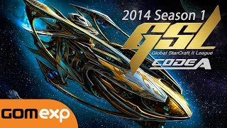 Code A Group D Match 2 Set 1, 2014 GSL Season 1