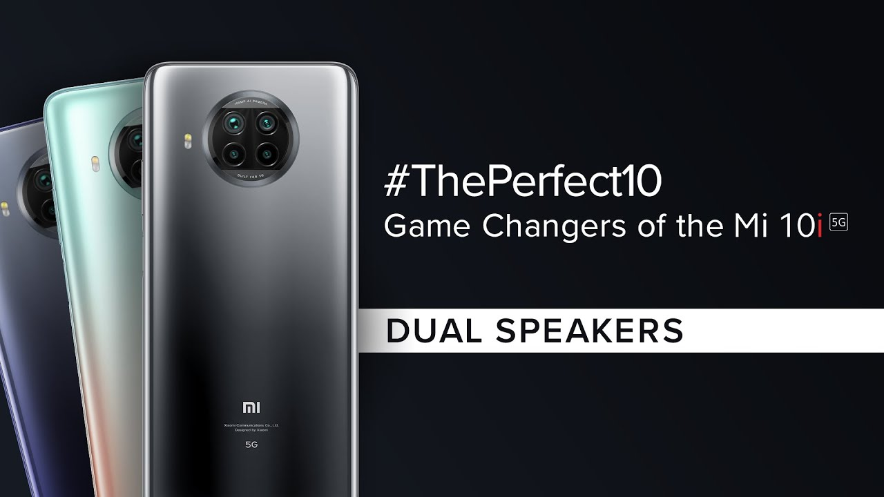 Game changers of the Mi 10i | Reason No. 5| #ThePerfect10