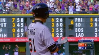 Ichiro triples for his 3,000th hit