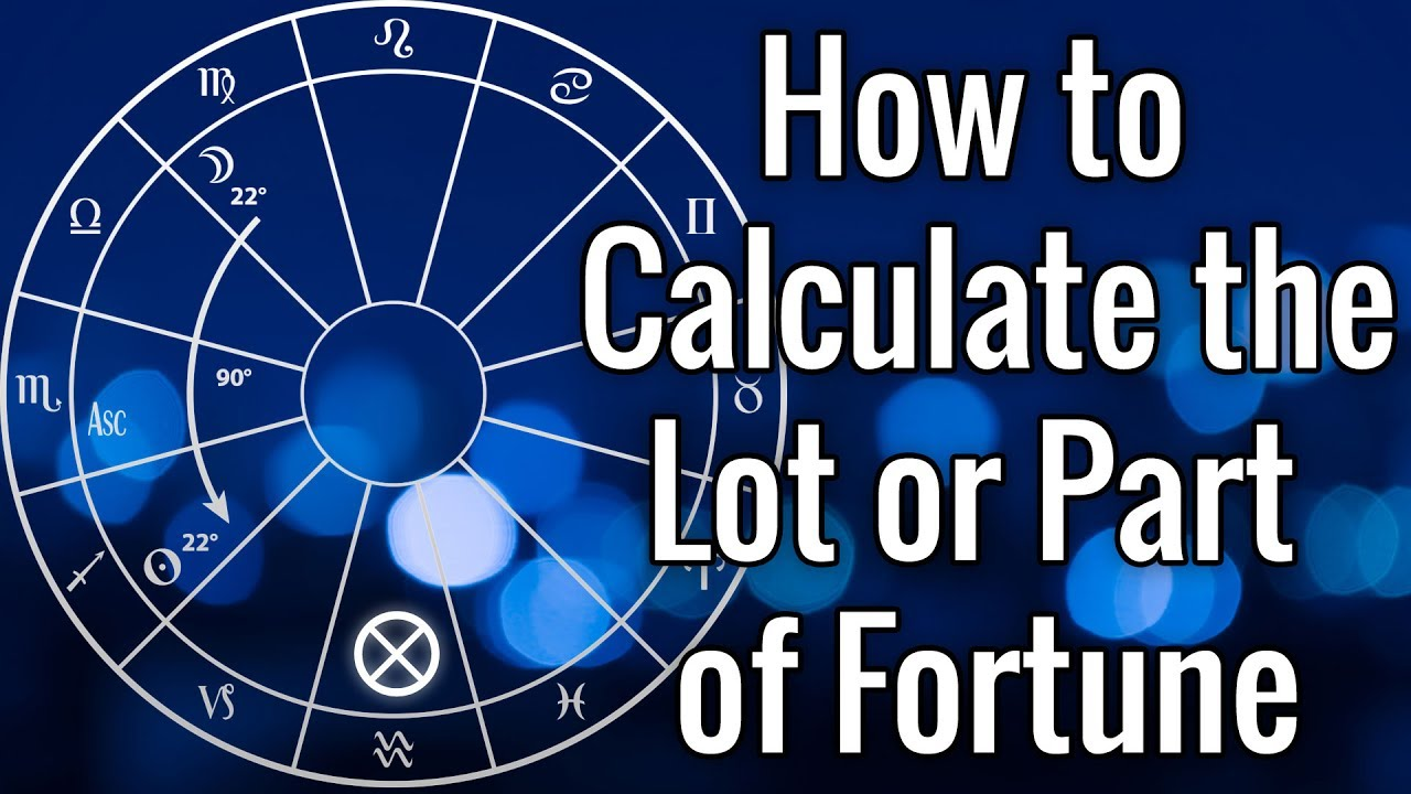 Calculating the Lot or Part of Fortune