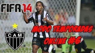 FIFA14 | Modo Temporadas Online | #6 | Atlético Mineiro y Ronaldinho