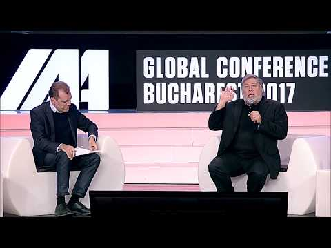 The Economist's Tom Standage in conversation with Steve Wozniak, IAA Global Conference