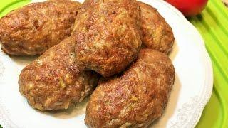ДОМАШНИЕ КОТЛЕТЫ В ДУХОВКЕ.  Мягкие, сочные, аппетитные!  (Homemade Вurgers in the oven)