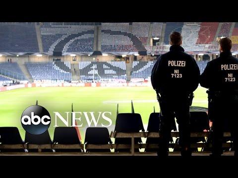 Germany Soccer Stadium Evacuated After Threats