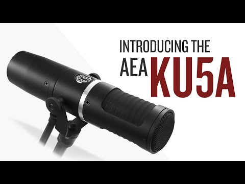 Introducing the AEA KU5A Supercardioid Ribbon Microphone