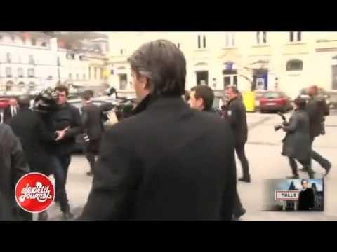 Valérie Trierweiler s'énerve contre un journaliste