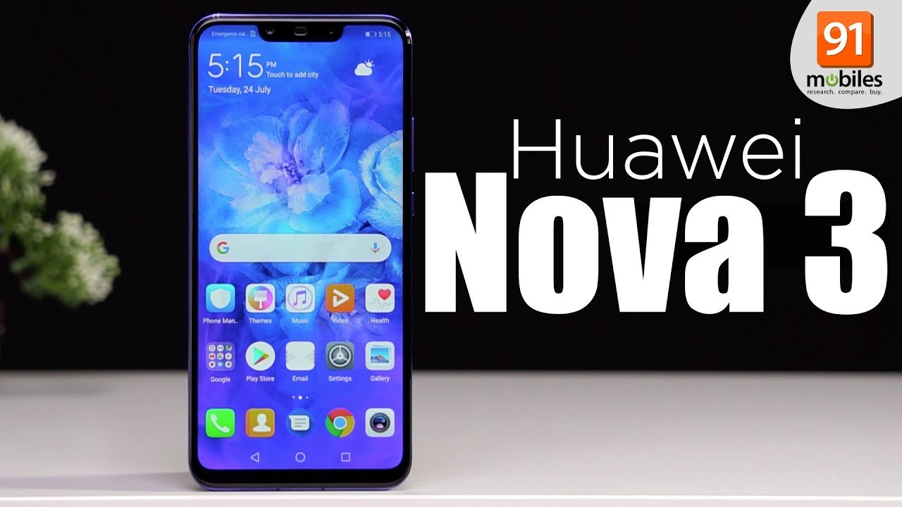 Huawei Nova 3: Unboxing & First Look   Hands on   Price [Hindi हिन्दी]