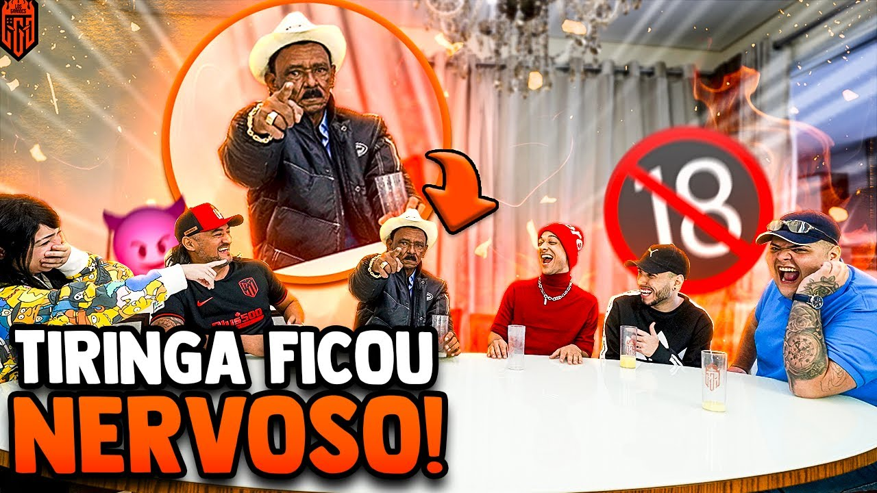 EU NUNCA PESADÃO COM CHARLES E TIRINGA - CONTARAM TODOS OS SEGREDOS! - LOS GRANDES FREE FIRE